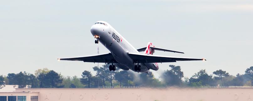 Volotea vol annulé, vol retardé ou surbooking